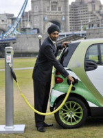 Electric-car--Launch